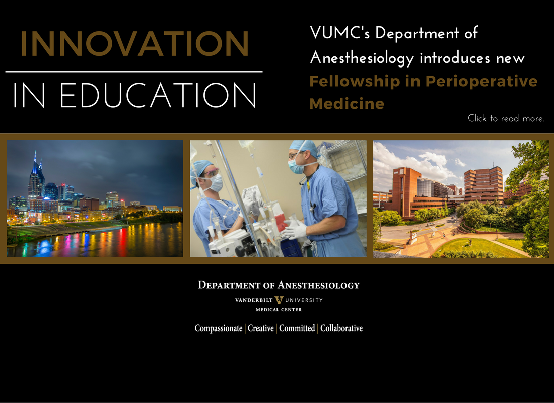 Perioperative Medicine Fellowship