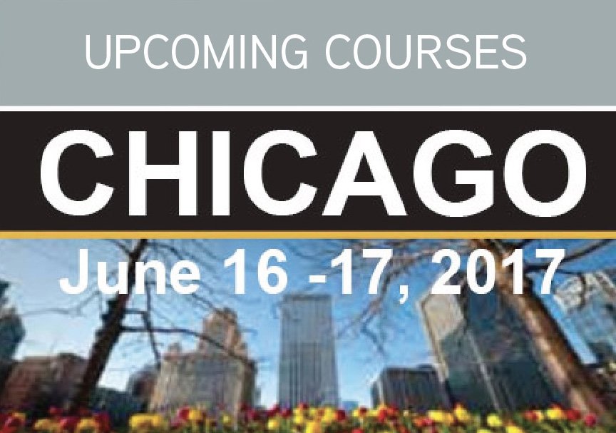 Upcoming Courses - Chicago 2017