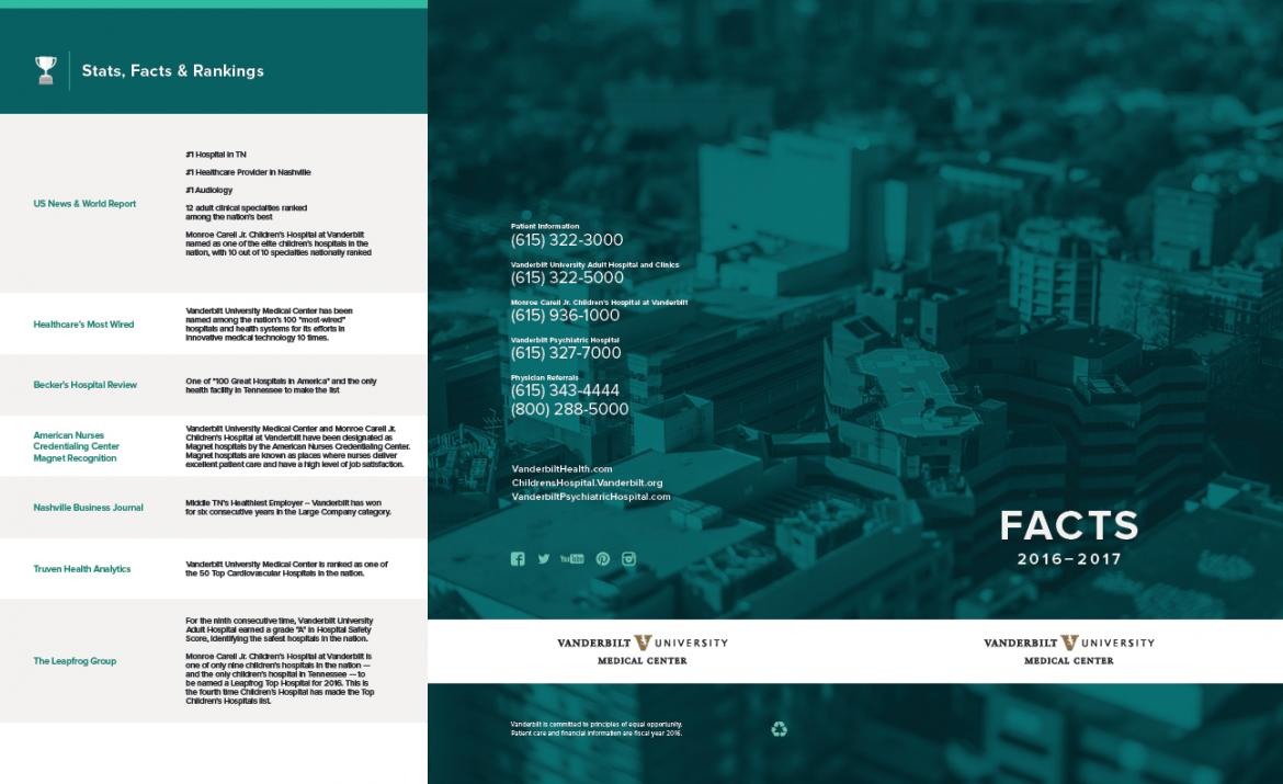 outside cover of fact brochure