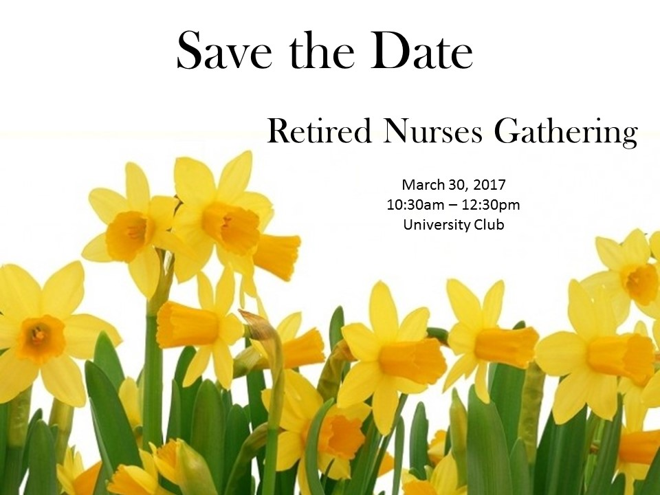 Save the Date March 2017