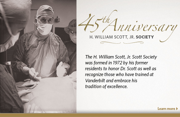 45th Anniversary of the Scott Society