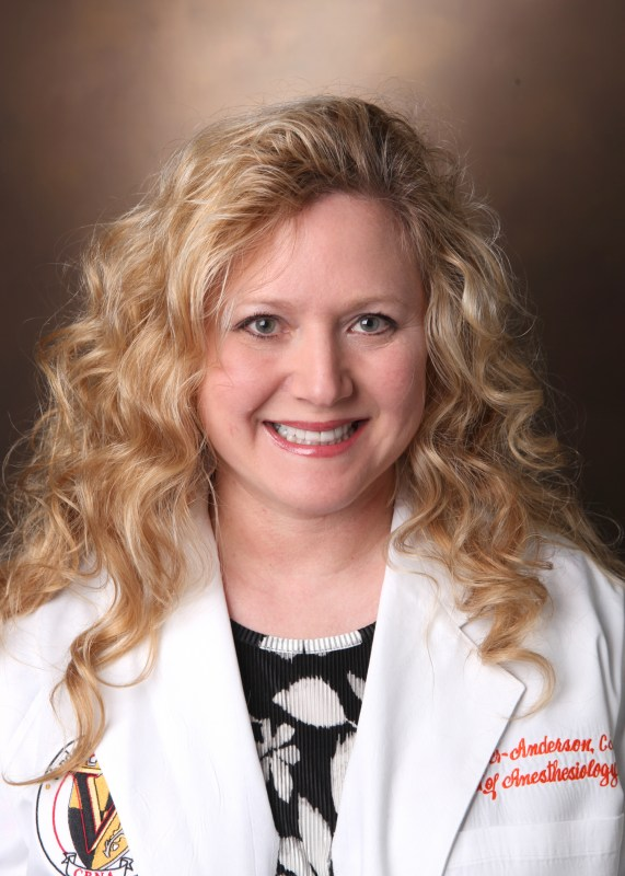 Robbyn-Barber Anderson, CRNA