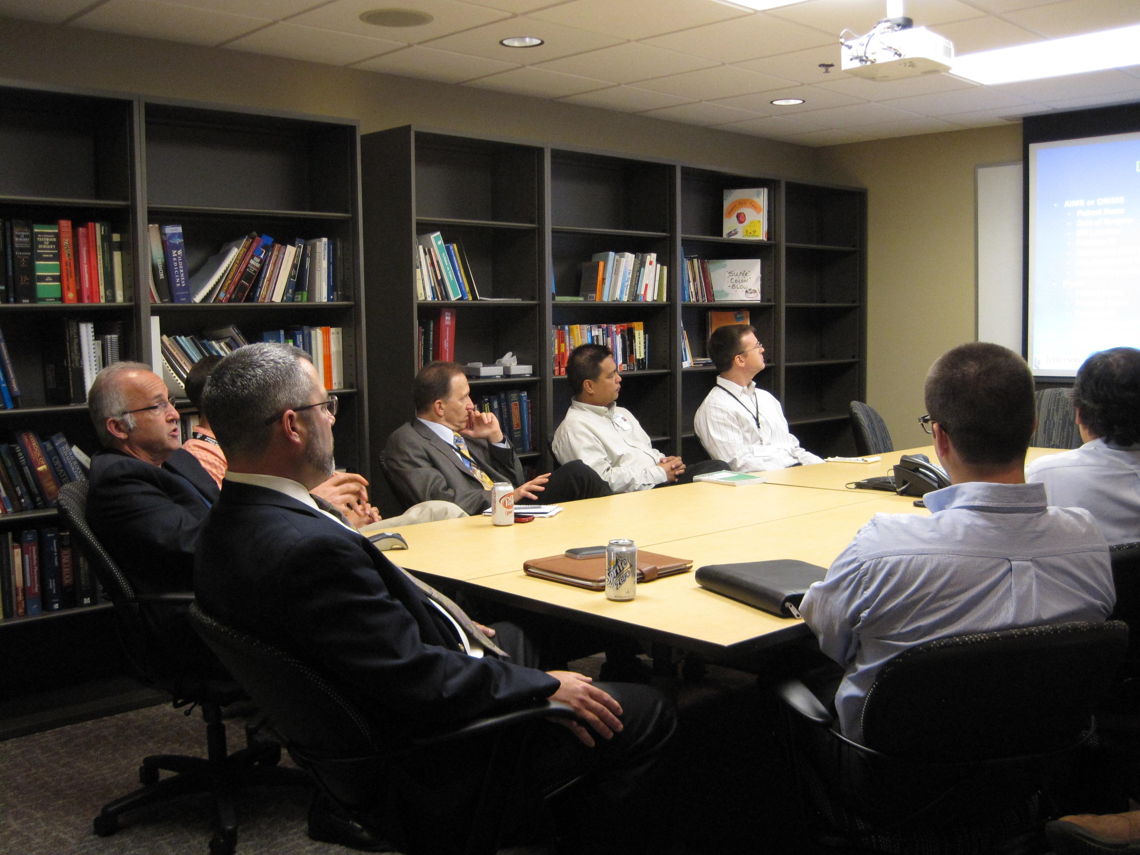 Vanderbilt Physicians and Staff at Informatics Seminar