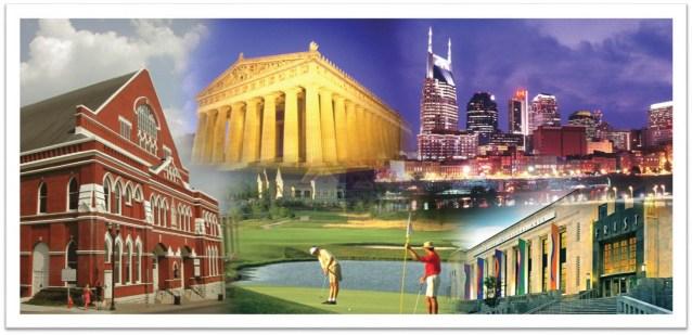 Nashville collage