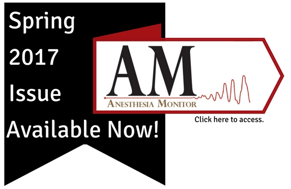 Spring 2017 Anesthesia Monitor