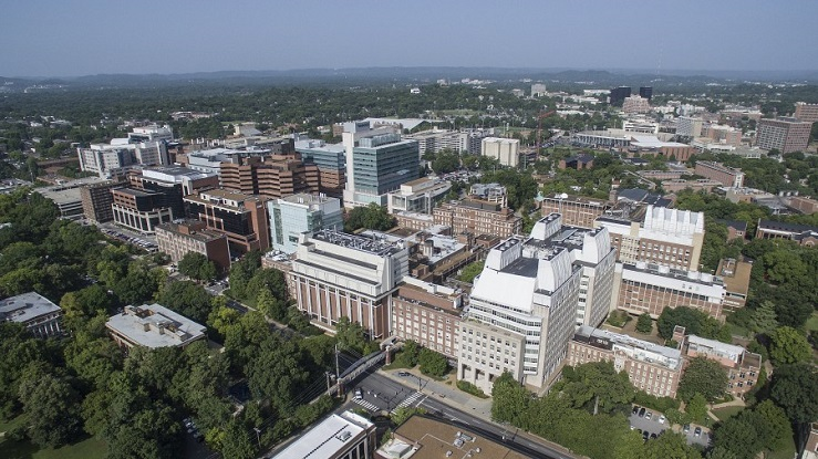 Picture of Areal View of VUMC