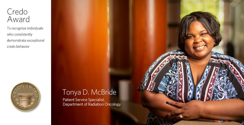 Tonya McBride - VUMC Credo Winner