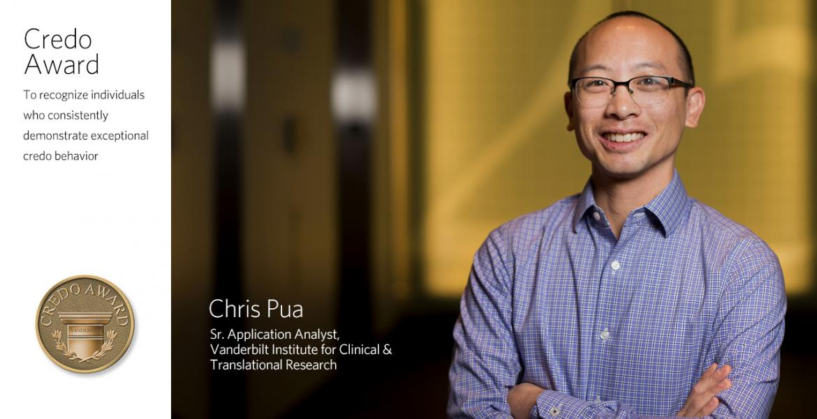 Chris Pua - VUMC Credo Winner