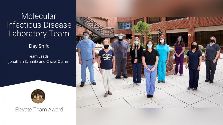 Molecular Infectious Disease Lab Team - Elevate Te