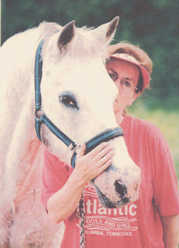 Lindsey and horse