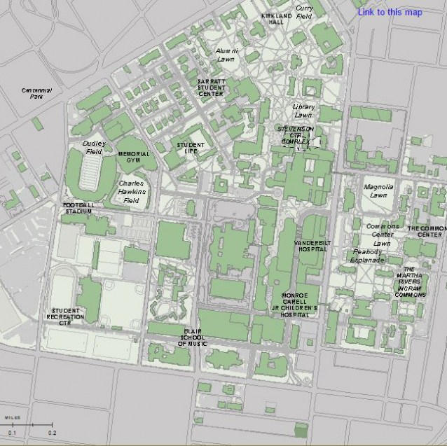 Umc Campus Map.General Surgery Residency Campus Maps Vanderbilt Health