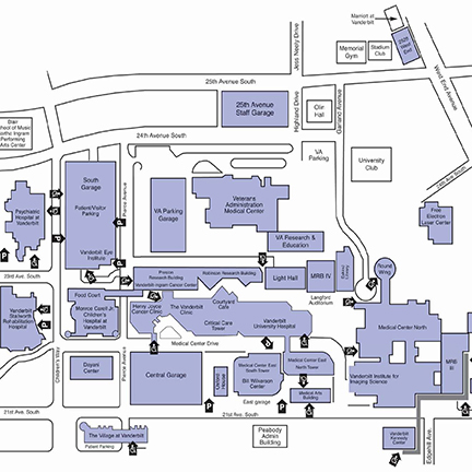 General Surgery Residency - Campus Maps - Vanderbilt Health ...