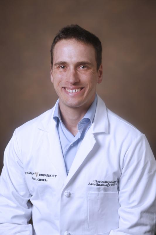 Anesthesiology Department Fellows - Charles Baysinger, MD