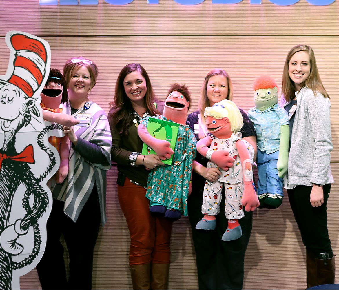 Children's Hospital<br />celebrates reading on<br />Dr. Seuss' birthday