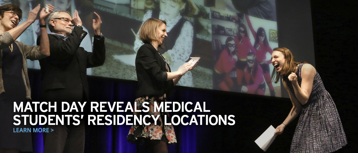Match Day reveals medical students' residency locations