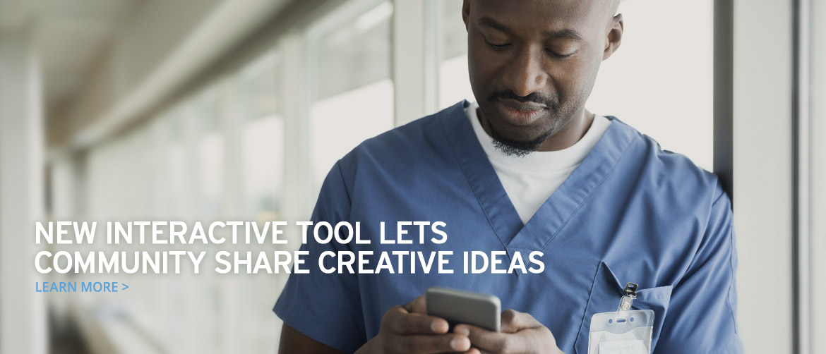 New interactive tool lets VUMC community share creative ideas