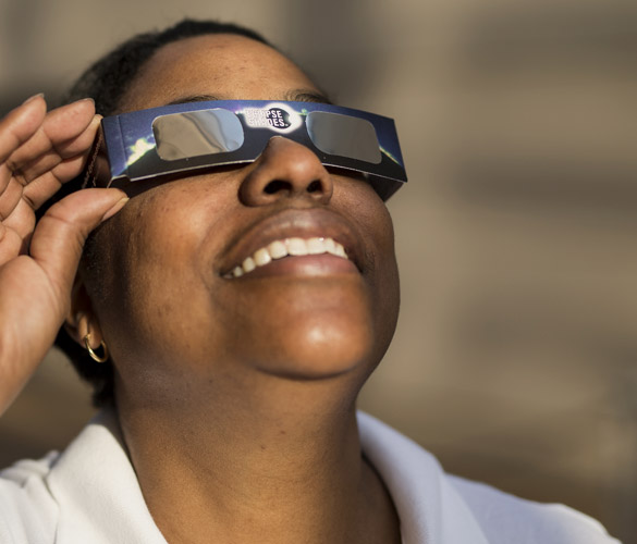 Keep an eye on safety during upcoming solar eclipse