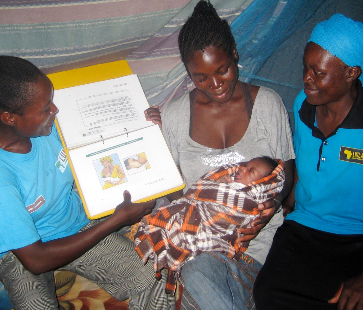 Community-driven health efforts saving lives in Lwala
