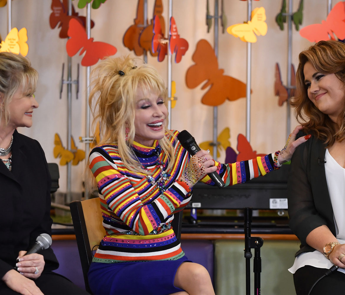 Dolly's Children's Hospital visit highlights strong ties