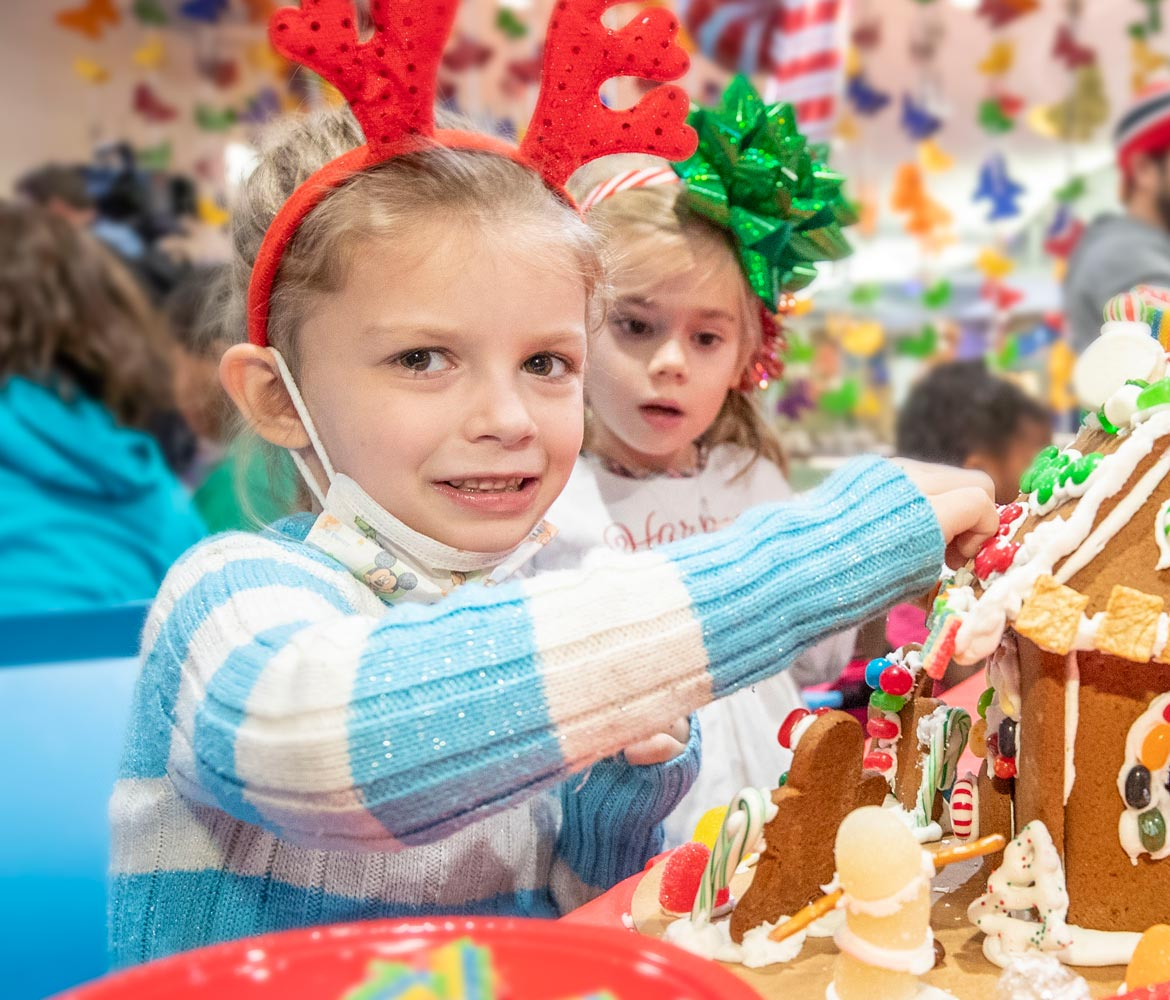 Gingerbread treats at annual Children's Hospital event