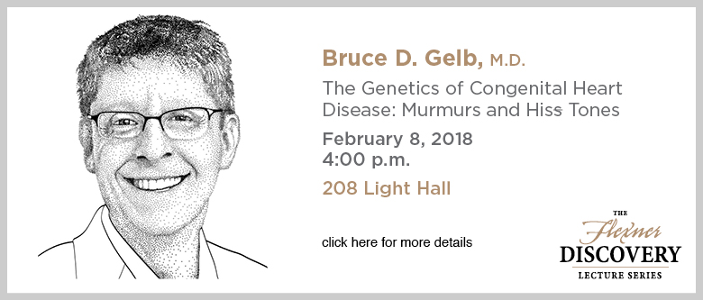 Discovery Lecture Series — Bruce Gelb — February 8, 2018