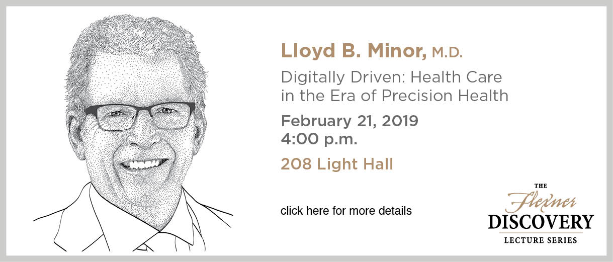 Discovery Lecture Series - Minor - February 21, 2019