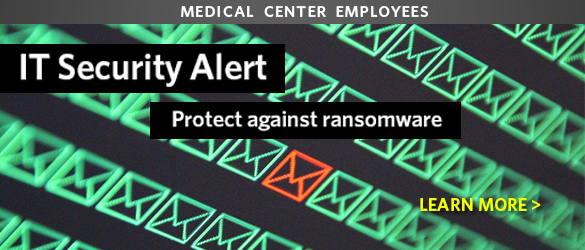 IT Alert: Protect Against Ransomeware