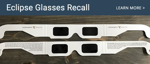 Eclipse Glasses Recall