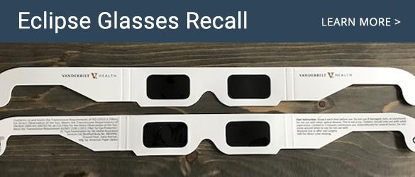 Eclipse Glasses Recall