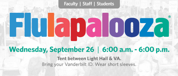 Flulapalooza 2018 - September 26, 2018