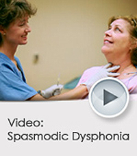 Spasmodic Dysphonia Video