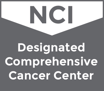 NCI Designated Comprehensive Cancer Center logo