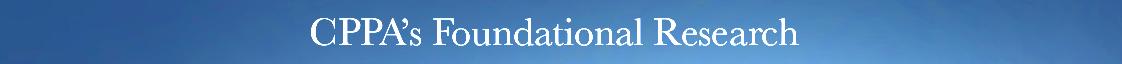 CPPA Seminal Articles