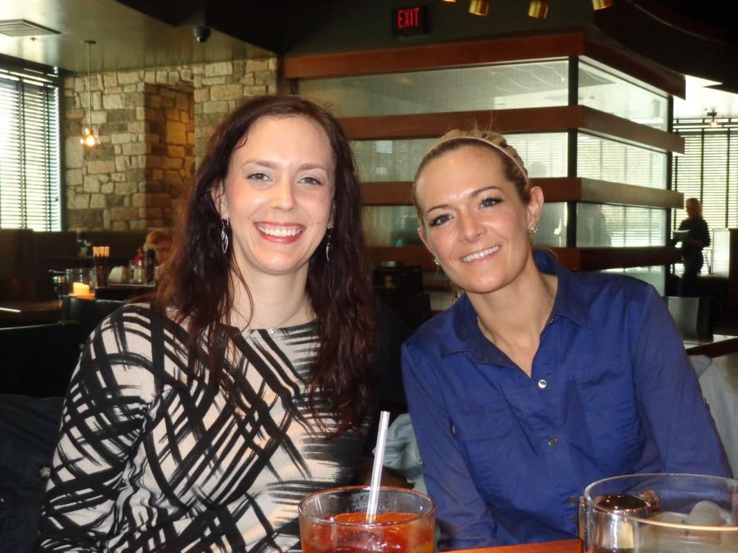 Maria Golson and Jennifer Dunn