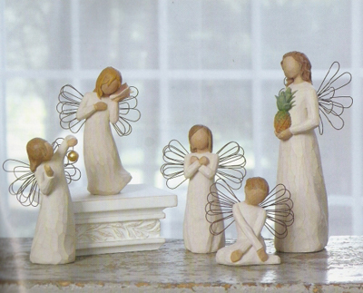 inspirational angel figurines