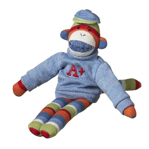 student sock monkey