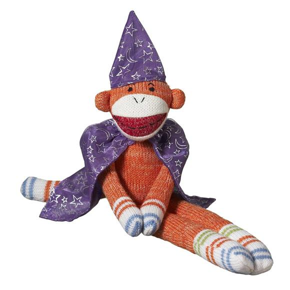 magician sock monkey