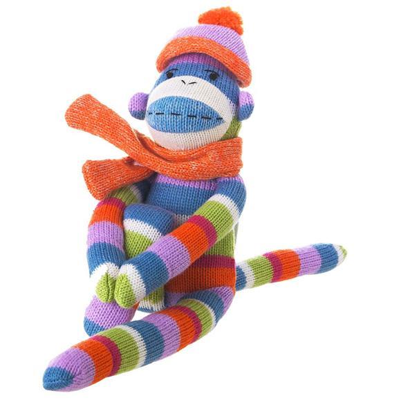 winter sock monkey