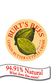 Burt's Bees cuticle cream