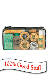 Burt's Bees travel bag selection