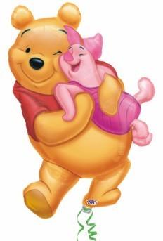 Winnie Pooh and Piglet balloon