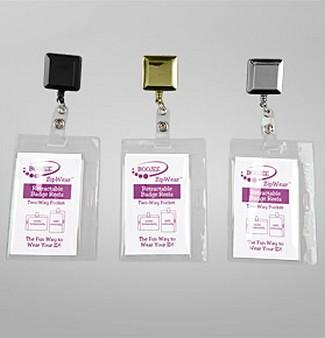 various badge reels