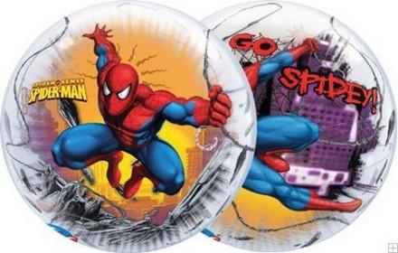 Spiderman bubble balloons