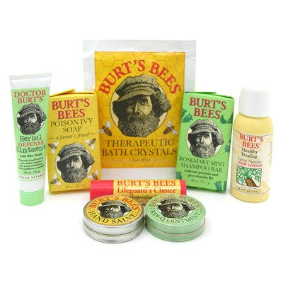 Burt's Bees gift basket selection