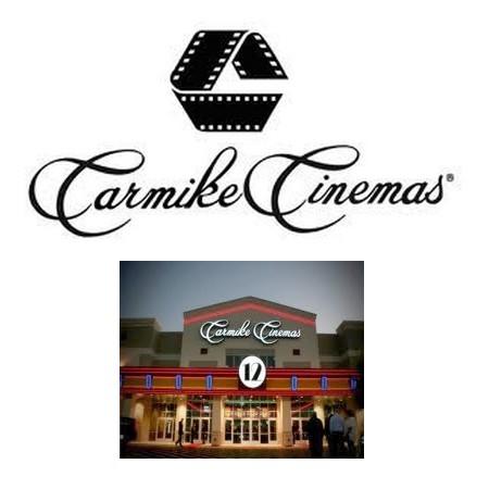 Carmike Cinemas Theater and Logo