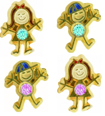 birthstone brats, boy and girl shapes
