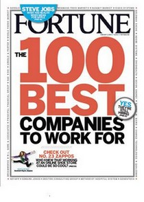 Fortune, the 100 Best Companies to work for logo