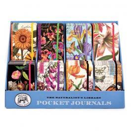 pocket journals display