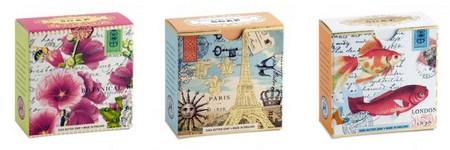 individual designer boxed soap