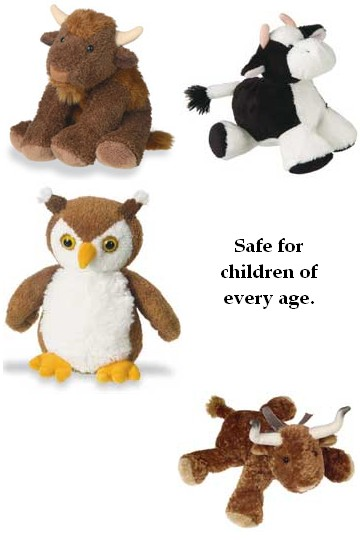assorted Mary Meyers stuffed animals for all ages